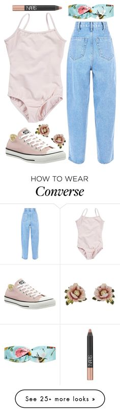 """""""Mines"""" by dion-balalas on Polyvore featuring Converse, Gucci, NARS Cosmetics and Les Néréides"""