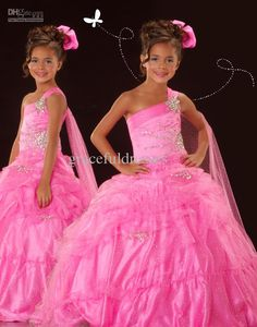 Wholesale Pink Pageant dresses for kids dresses for weddings Kids evening gowns flower girls dresses 2013 f193, Free shipping, $85.12-89.6/Piece | DHgate