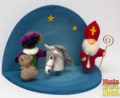 Vingerpopjes Sinterklaas van Huisvolkleur