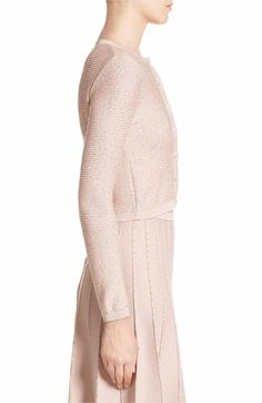 12 Best Shades of rose images | Ribbed cardigan, Cropped