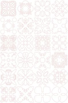 Hawaiian Quilt Blocks 2 (4x4)   Embroidery Delight   Your source for all embroidery designs, Applique, Quilt Blocks, Animal, Floral, Lacework, etc.