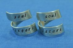 Soul Sisters/ Best Friend Gift/ Sister Gift/ by TheVillageGifts