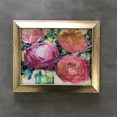 Original Flower Painting newly available