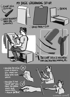 """My Life Drawing Set-Up"" 