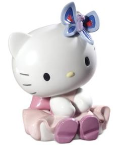 Nao by Lladro Hello Kitty Dressed for the Party Collectible Figurine