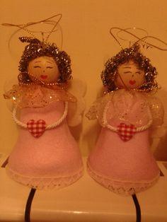 Decorazioni natalizie per le mie gemelline Sara e Martina