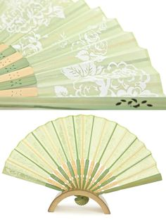 Japanese fan and stand