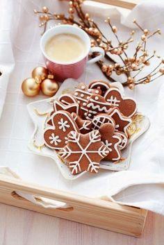 Es duftet nach Weihnachten und Gemütlichkeit: Schöne Inspiration für Weihnachtsdeko und - cookies.