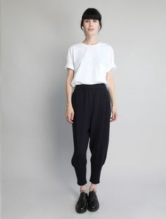 Knitted Cuff Trouser by Boboutic