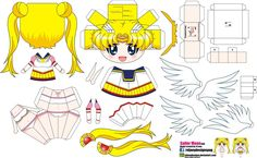 Sailor moon (Joey's chibi Girls 046) by ELJOEYDESIGNS on deviantART