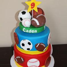 Sports Ball Cake More