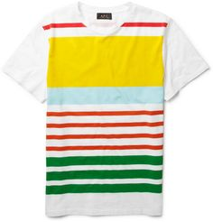 A.P.C Striped Summer T-Shirt