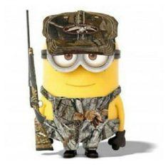 Hunting minion, it's me!