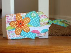 Gift tag made using Kiwi Lane designer templates.                                                                                                                                                      More