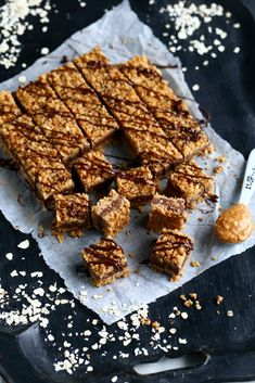 Toffee Bars, No Bake Cookies, Baking Cookies, Sweet Pastries, Piece Of Cakes, Granola, Baking Recipes, Food Porn, Food And Drink