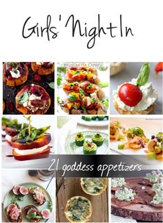 21 Goddess Appetizers For A Girls' Night In #appetizers #Recipes #BuzzFeed