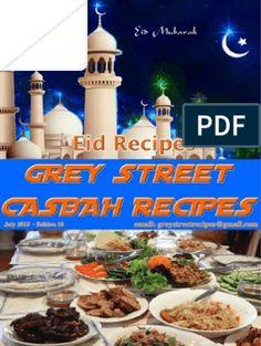 Grey Street Casbah Recipes July 2015 .pdf Peppermint Crisp, Eid Eid, Diwali Food, Curry Leaves, Tamarind, Indian Food Recipes, Text File, Free Food, Dessert Recipes