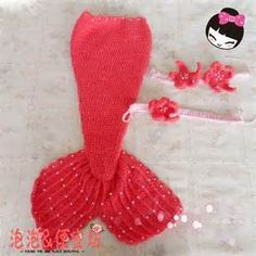 Free Crochet Mermaid Tail Pattern - Bing Images                                                                                                                                                                                 More