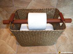 A Creative Princess-toilet paper holder