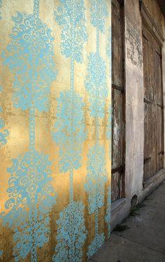 Flavor Paper MONACO / Scrubs On Gold Ponyskin