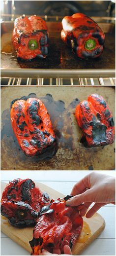 HOW TO: Roast a Red Pepper #howto