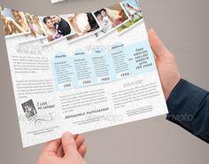 bridal+brochure | Tri Fold Wedding Brochure Design