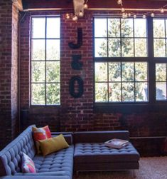 At Home: Moving to a gorgeous loft in the Brewery District