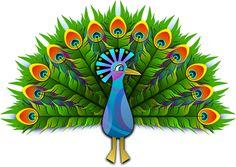 Бесплатное изображение на Pixabay - Павлин, Peachick, Птица, Красочные