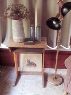 Van oude lamp, hippe lamp gemaakt