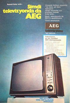 OĞUZ TOPOĞLU : aeg televizyon 1975 nostaljik eski reklamlar