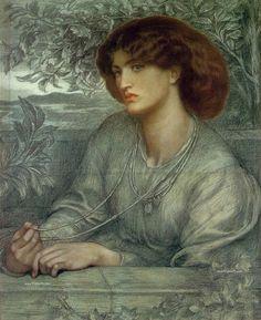 Dante Gabriel Rossetti: Simbolismo Prerrafaelita