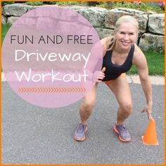 Hit the driveway for a fun and free sweaty workout! - Hit the driveway for a fun and free sweaty workout! Running Workouts, At Home Workouts, Butt Workouts, Summer Workouts, Quick Workouts, Daily Workouts, Park Workout, Lose Weight, Weight Loss