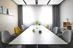 boarding room, by deignville Conference Room, Dining Table, Furniture, Design, Home Decor, Decoration Home, Room Decor, Dinner Table, Meeting Rooms