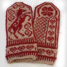 Horse mittens