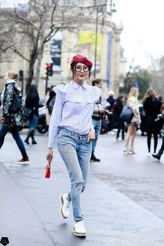 Paris Streetstyle : Chriselle Lim