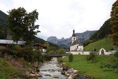 4 Freizeiten Ramsau Kirche