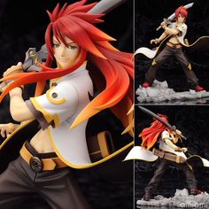 AmiAmi [Character & Hobby Shop] | Tales of the Abyss - Luke fone Fabre 1/8 Complete Figure(Released)