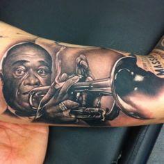 Trumpeter Tattoo By Csörsz Pèter