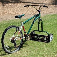 I need to do this for SHTF... because I do the riding lawnmower thing - keeps me up away from snakes!