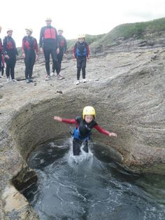 Coasteering - a natural high, eco experience kids will love!