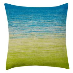 Embroidered Ombre Cushion
