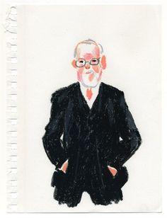 Peter Blake, by Damien Florébert Cuypers, 2011