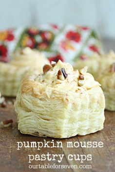 Pumpkin Mousse Pastr