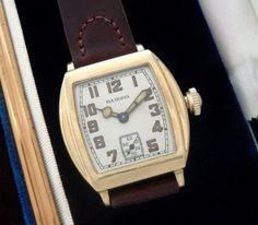 Men's Vintage Watch: 1929 Illinois Dress Wristwatch | Strickland Vintage Watches