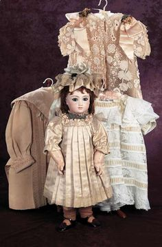 Superb French Bisque Bebe A.T.,Size 9,by Thuillier