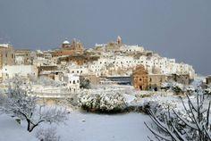 Ostuni - Neve - foto di Salvatyore Valente - Brindisi