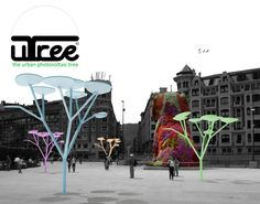 uTree Urban Photovoltaic Tree by Xabier Perez de Arenaza blog.excellence-group.ru