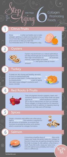 Collagen Promoting Foods