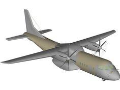 EADS CASA C-295 Persuader 3D Model