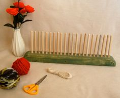 Peg Weaving Loom by TallGrassWorkshop on Etsy